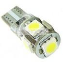 T10 5SMD5050 Canbus Led bulb