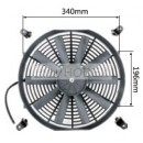 "Auto Radiator Fan Car cooling Fan universal 14""straight"