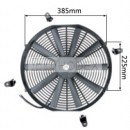 "Auto Radiator Fan Car cooling Fan universal 16""straight"
